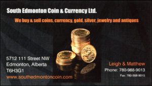 South Edmonton Coin & Currency Ltd.