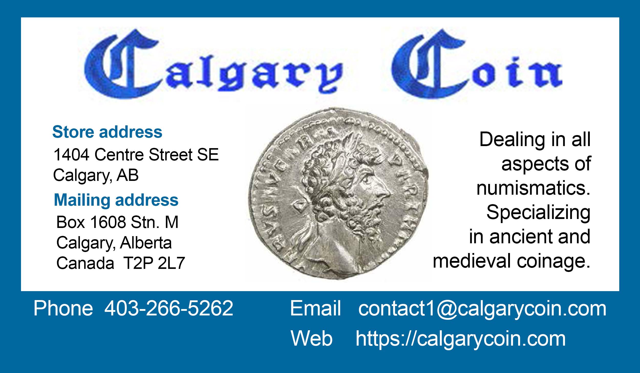 Calgary Coin