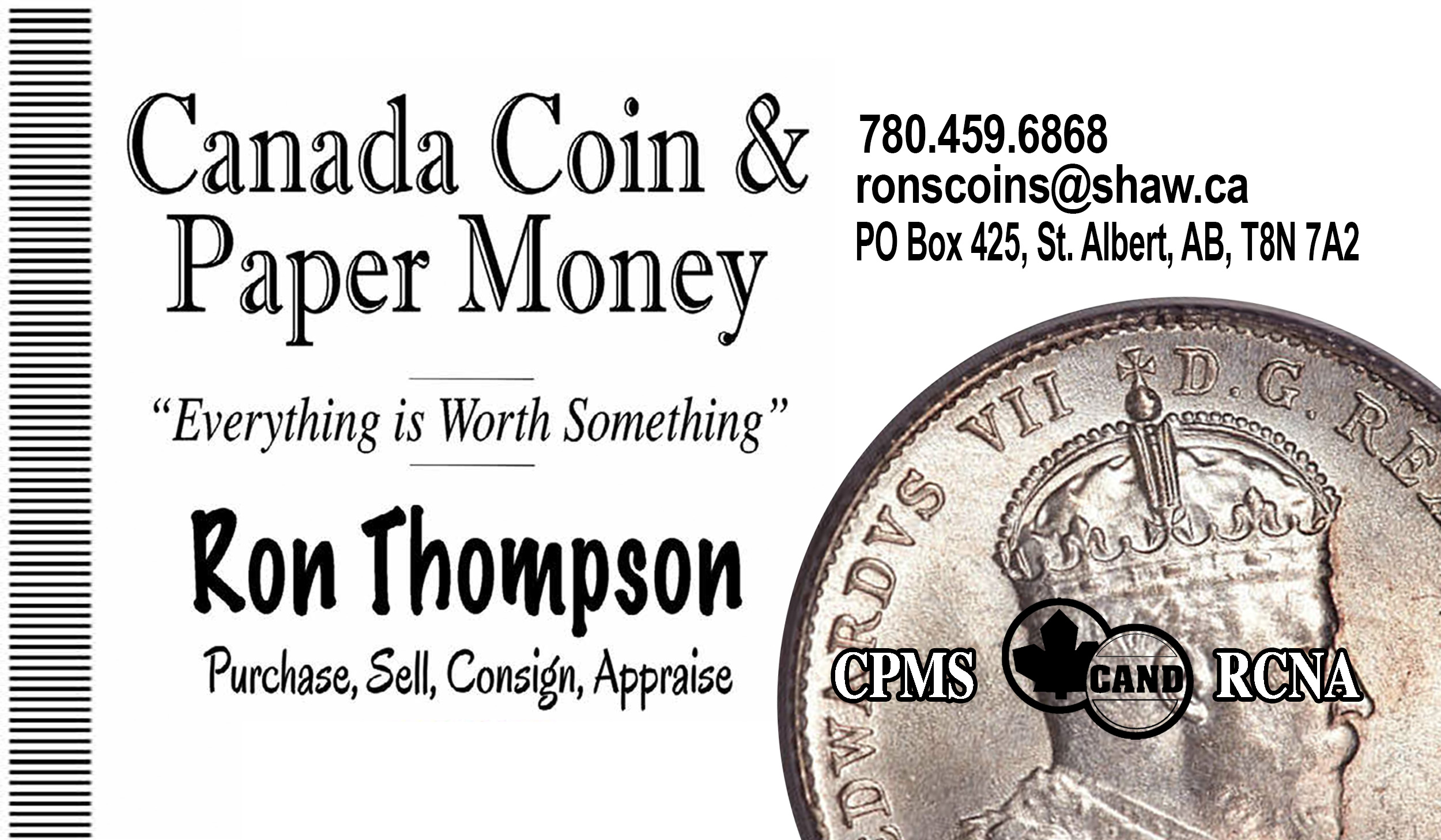 Canadian Coin & Paper Money