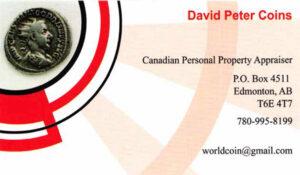 David Peter Coins